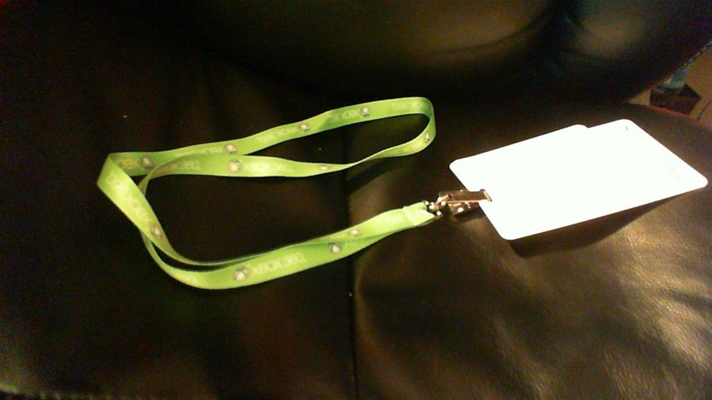 Simple lanyard sparking conversations
